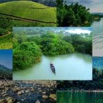 Sylhet of Bangladesh surrounded by mountains and greenery all around