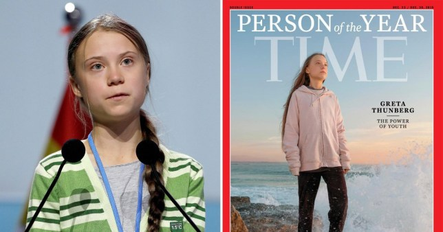 This year's 'Person of the Year' Greta Thunberg