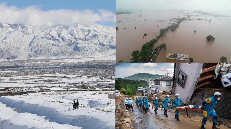More than 124 people died in India-Pakistan-Afghanistan due to flood and cold