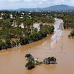 Australia is in the grip of a devastating cyclone after the bushfire