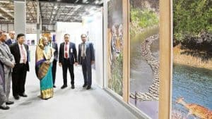 Prime Minister Sheikh Hasina Visited The Bangladesh Pavilion In Madrid