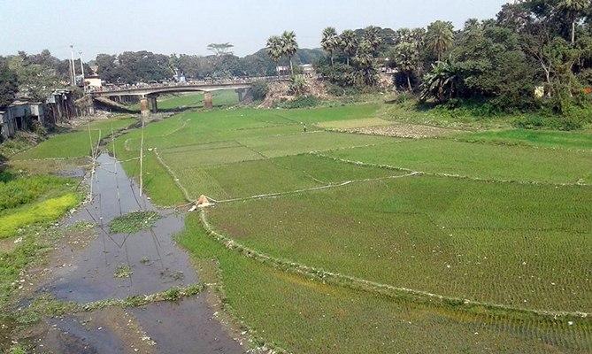 The Narsunda River at Kishoreganj