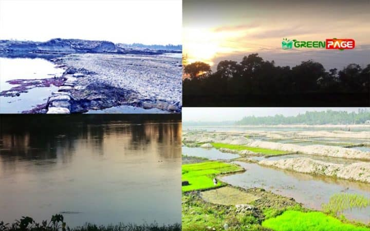 33 rivers of Panchagarh, Bangladesh are becoming dead due to occupancy and pollution