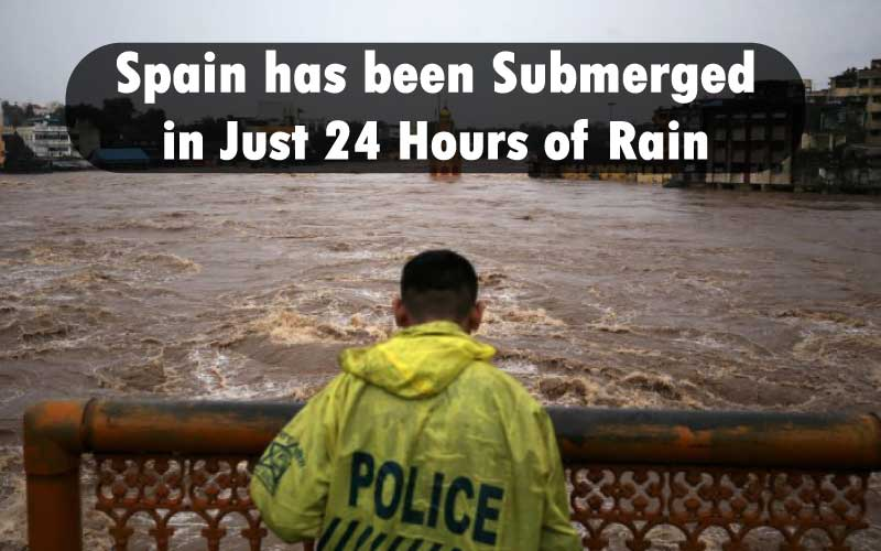 Spain has been Submerged in Just 24 Hours of Rain