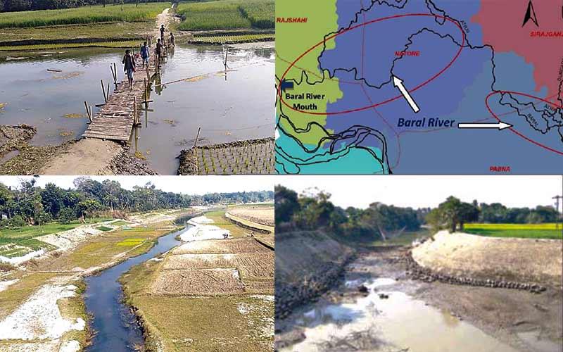The River Baral of Rajshahi
