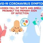 COVID-19 coronavirus Symptom: Sudden Fall of Taste and Smell Probably the Primary Sign of Infection