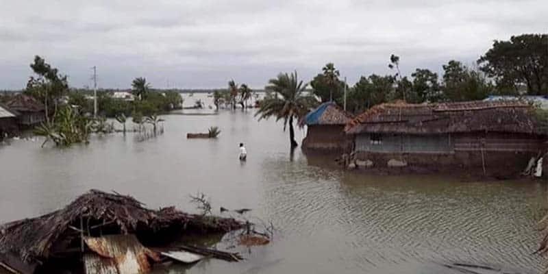 Amphan damaged BDT 3.00 Billion in the Fisheries Sector at Khulna, Bangladesh.