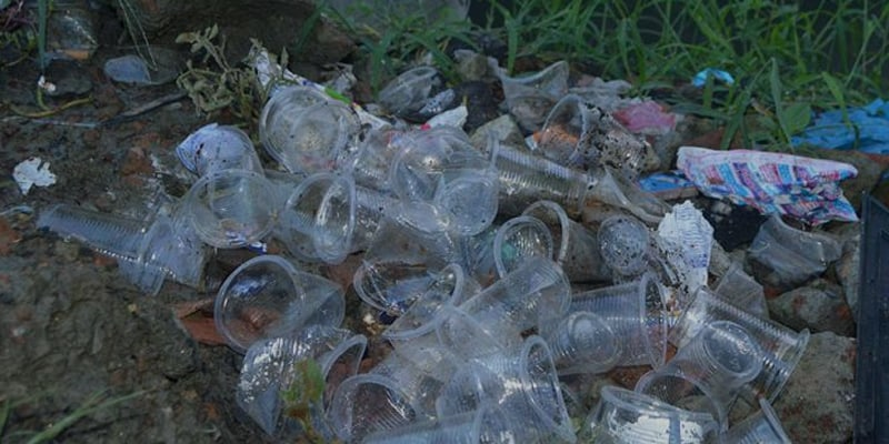 COVID 19 crisis Increasing the use of One-time Plastic Cups causes the Environmental Hazzard
