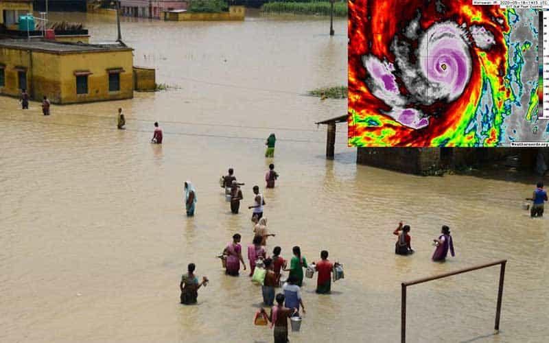 Two-round Flood Threat in Bangladesh