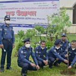 Dinajpur District Police Planned to Plant One Lakh Saplings of Trees
