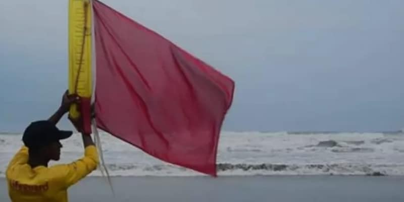 Low Pressure in the Bay of Bengal, Warning Signal Number 3 Till August 22