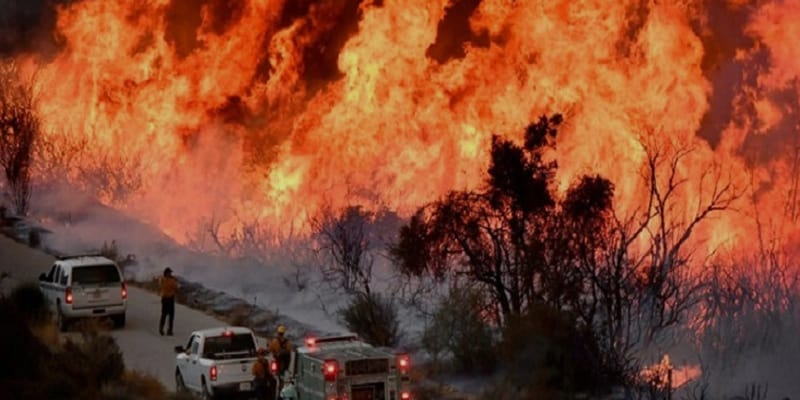 Global Warming Responsible For Wildfires