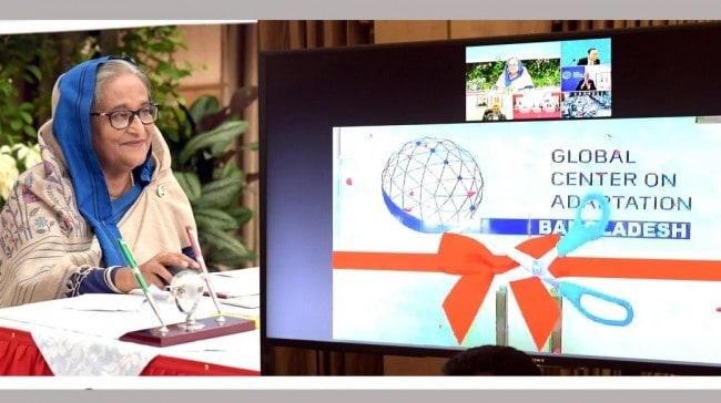 Inauguration of Global Center on Adaptation (GCA) Bangladesh Office
