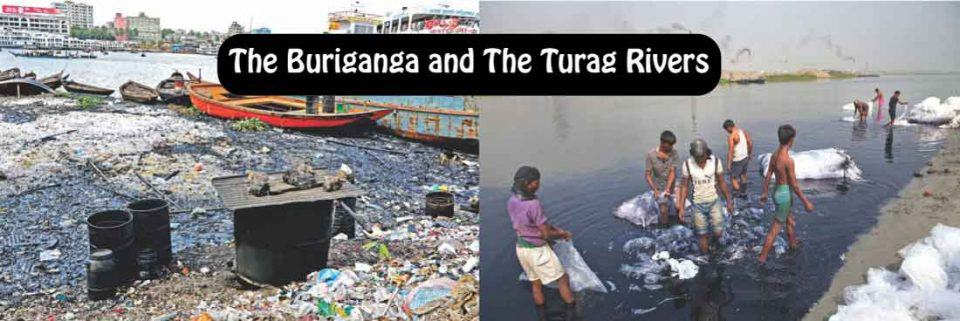 The Buriganga and The Turag Rivers