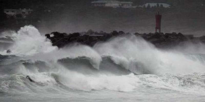 Typhoon Haishen route to South Korea