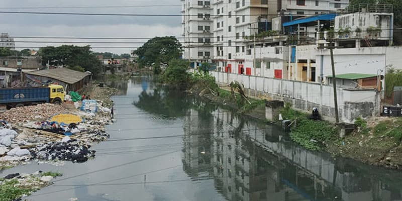 Asia's River Water is Blackened Gradually