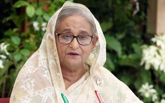Bangladesh didn't face food shortage in the global crisis- Sheik Hasina