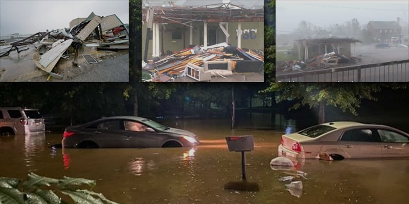 Hurricane Delta hits the United States, flood warning issued