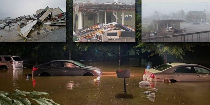Hurricane Delta hits the United States, flood warning issued