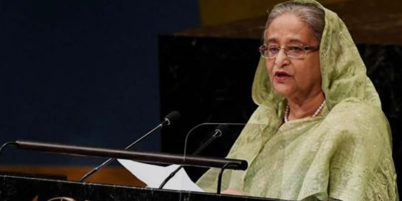 In the name of development, Dhaka's water bodies have been destroyed- Bangladesh Prime Minister Sheik Hasina