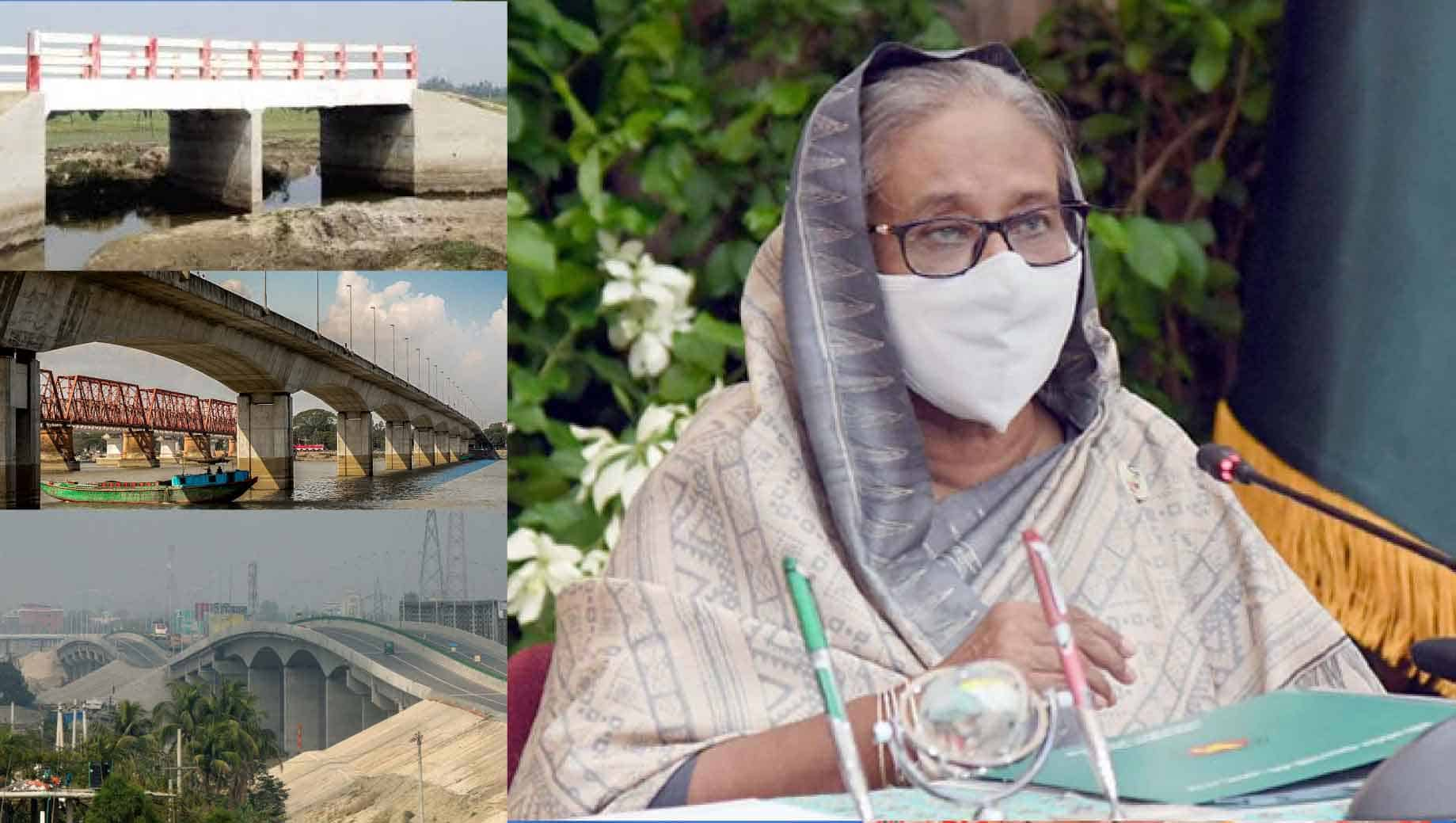 PM suggests construction of adequate culvert-bridges to save Swamps, Haors and Baors
