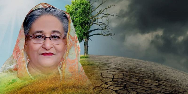 Sheikh Hasina has made four proposals to address Climate Change