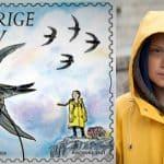 Greta Thunberg's photo on the Swedish stamp - The Guardian