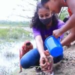The Indian Premier League's team KKR planted trees in the Sundarbans in celebration of the World Earth Day.