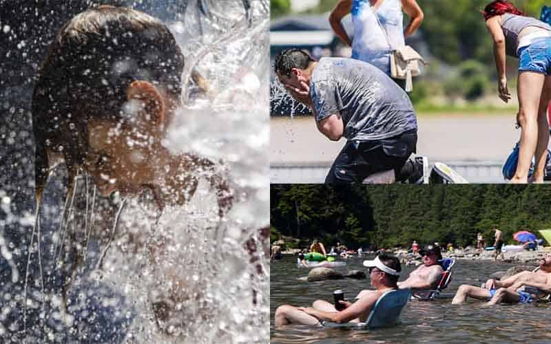 Canada and the USA is facing extreme heatwaves- the environment is in the face of danger