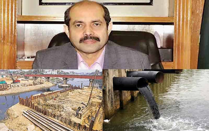 No construction work will allow that polluting the environment